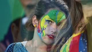 Олимпийские игры в Рио 2016.Смешные ,  Яркие,зажигательные,красивые фанаты
