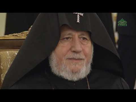 Патриарх Московский и всея Руси Кирилл встретился с Патриархом и Католикосом всех армян Гарегином II