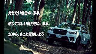 Subaru New Forester commercial song (スバル 新型フォレスターのCM曲)