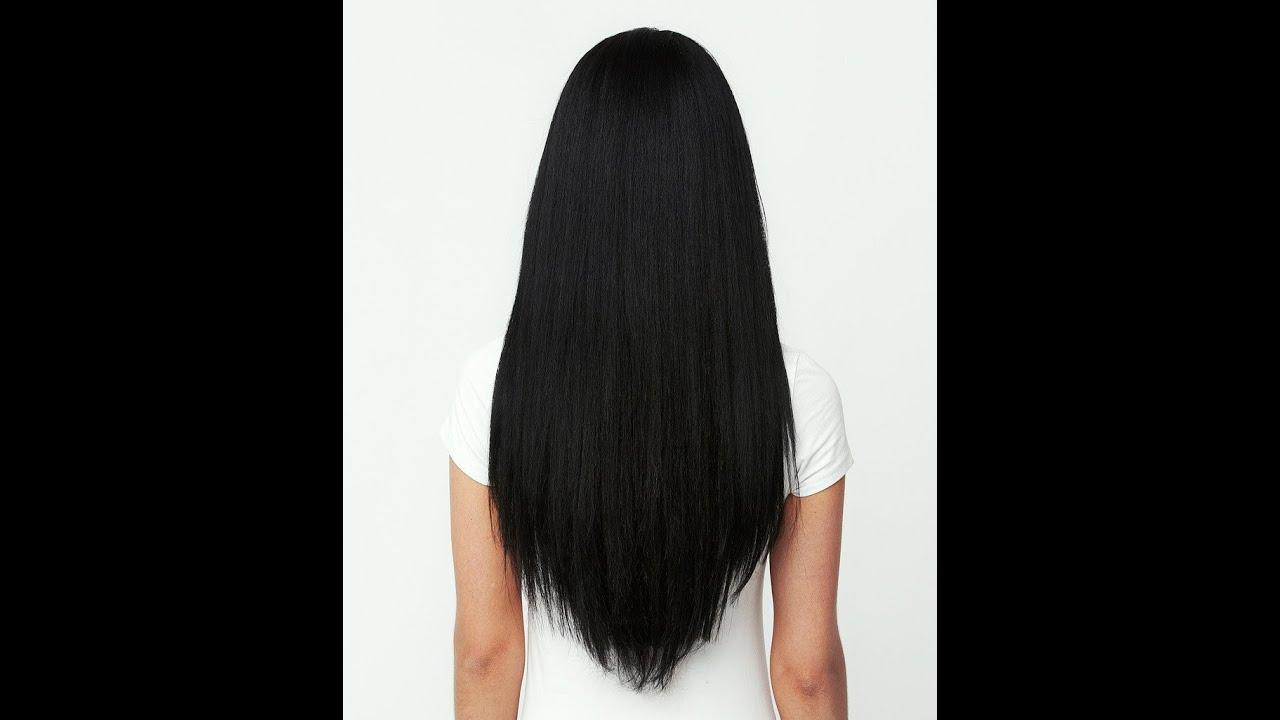 Jet Black Hair Vs Natural Black