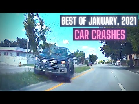 Craziest Car Crash Compilation: Best of January, 2021 [USA & Canada Only]