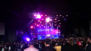 Megadeth - Sweating bullets @ Mayhem fest 2011 Camden