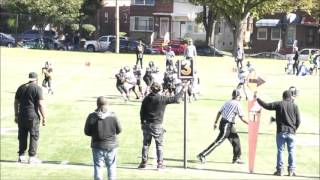 Lamond Riggs Steelers vs  White Oak Warriors (Mighty Mites)  October 11, 2015