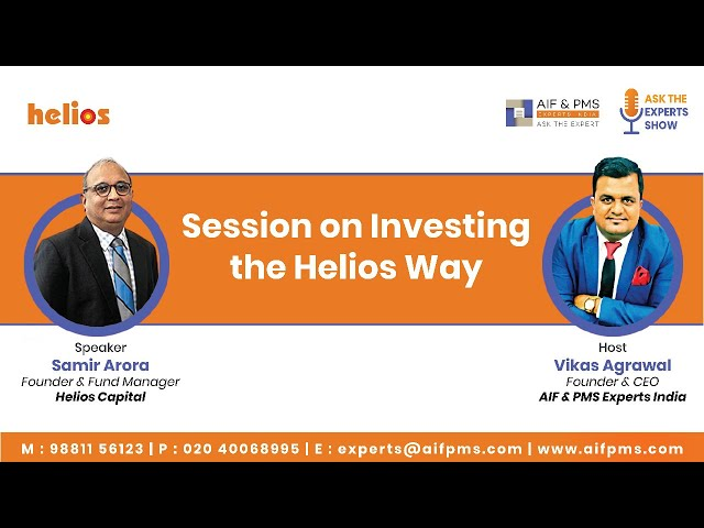 Session on Investing the Helios Way | Helios Capital | Samir Arora on ASK THE EXPERT SHOW