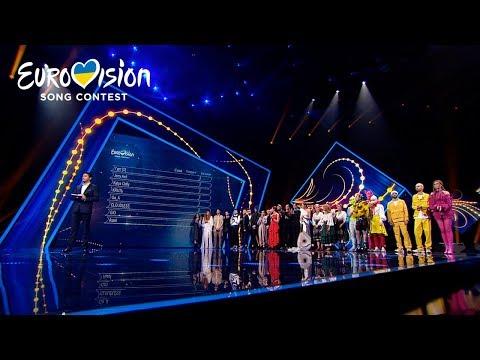 Результаты голосования – Национальный отбор на Евровидение-2020. Первый полуфинал