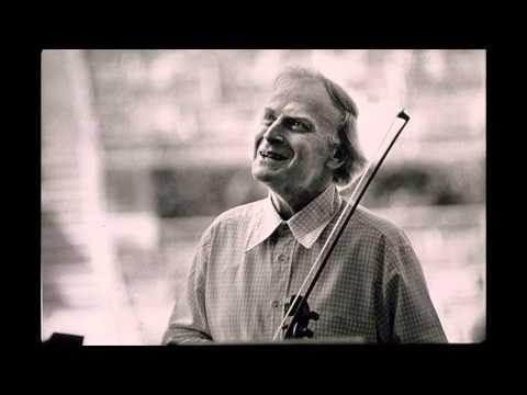 Yehudi Menuhin, violin | 1944, Bartok Romanian Folk Dances
