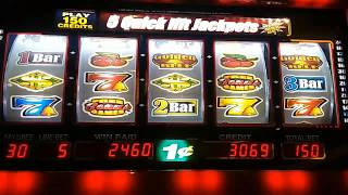 ** LIVE PLAY ** BONUS ROUND ** MAX BET ** QUICK HITS GOLDEN BELL PENNY SLOTS  !!!NICE HIT!!!