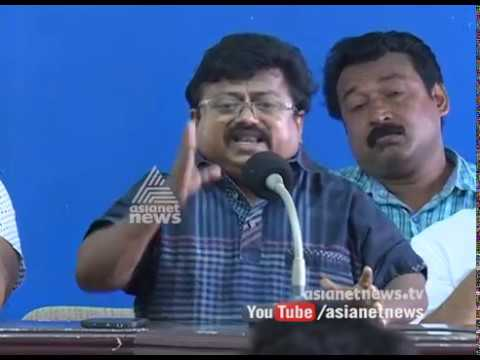 Protest against attack on cine artist Azeez Nedumangad