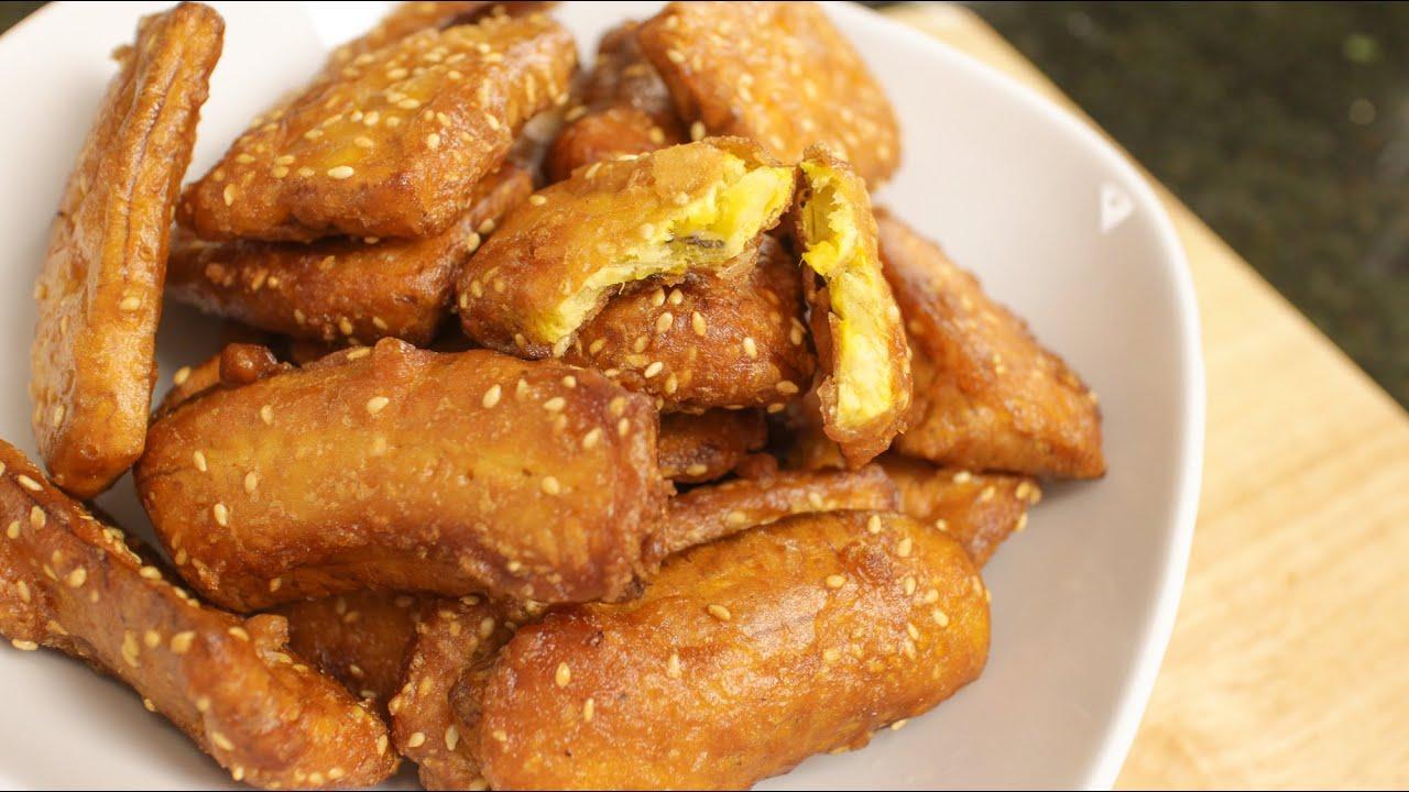 Thai Fried Bananas กล้วยแขก - Hot Thai Kitchen! - YouTube