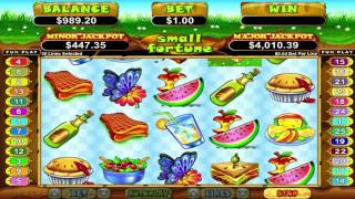 Small Fortune™ slot machine by RTG | Game preview by Slotozilla(Good luck while playing Small Fortune slot game powered by RTG. Click the following link to play:http://www.slotozilla.com/free-slots/small-fortune., 2015-09-01T11:24:59.000Z)