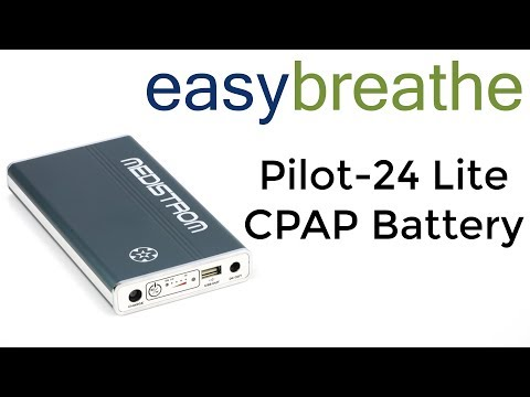 Medistrom Pilot-24 Lite CPAP Battery:  Power Your CPAP With The Best Battery On The Market