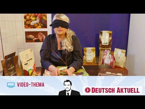 Süße Kunstwerke Aus Schokolade   Deutsch Lernen Mit Videos