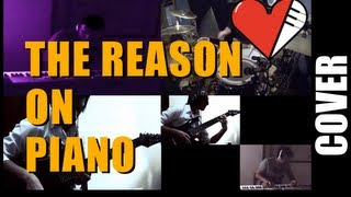 The Reason Hoobastank Piano Cover + Piano Sheet Music