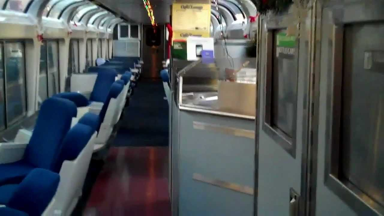 Amtrak Coast Starlight Christmas trip to Seattle - YouTube