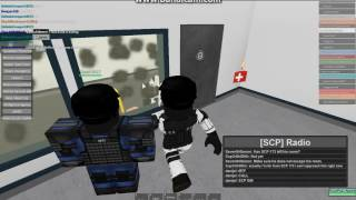 Roblox SCP sito-61 Roleplay Test camera divertimento