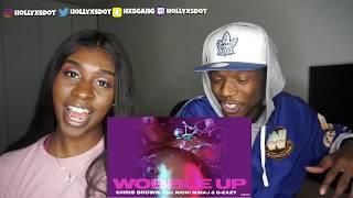 Chris Brown - Wobble Up ft. Nicki Minaj, G-Eazy | Reaction!