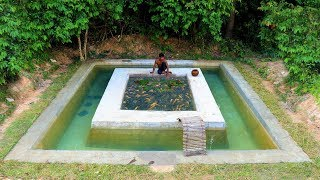 Removal The House To Build Fish Pond on Swimming Pool