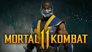"SCORPION WINS DESPITE THE ODDS! - Mortal Kombat 11 Online: ""Scorpion"" Gameplay! (Closed Beta)"