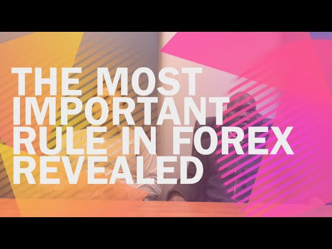 The most important rule in Forex revealed - YouTube