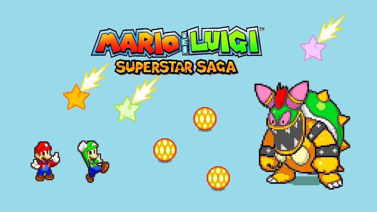 Gameplay Mario Y Luigi Superstar Saga Bowser Jiji Y Batalla Final Bowletta And Last Battle