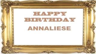 Annaliese   Birthday Postcards & Postales - Happy Birthday