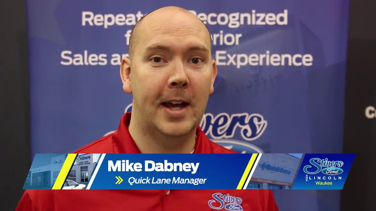 Meet Mike Dabney Stivers Ford Lincoln Waukee Youtube