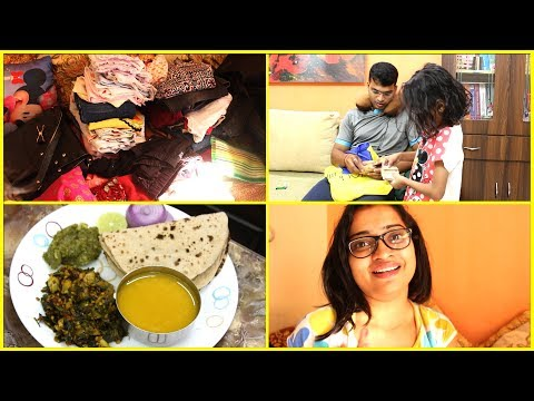 Indian Mom Packing For Lucknow - Last Minute Plan - Sunday Dinner - Monday Breakfast Routine