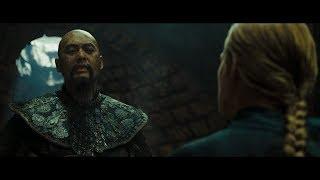 Элизабет пытается убедить Сяо Фэня.  Сражение с солдатами. HD