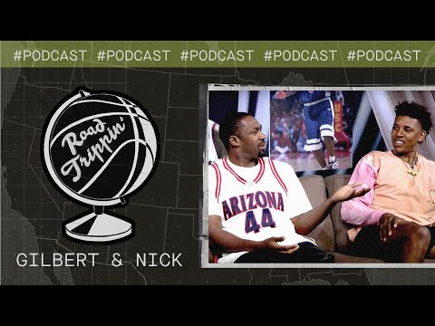 Gilbert Arenas & Nick Young tell their best NBA stories, drink wine, and more | ROAD TRIPPIN'