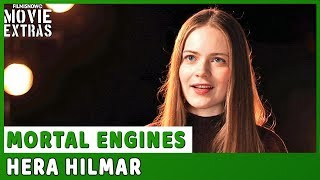 MORTAL ENGINES | On-set visit with Hera Hilmar