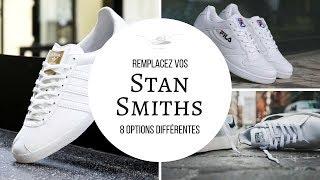 8 ALTERNATIVES aux STAN SMITH | TOUT sur les SNEAKERS BLANCHES (INDISPENSABLES) ! | conseils mode