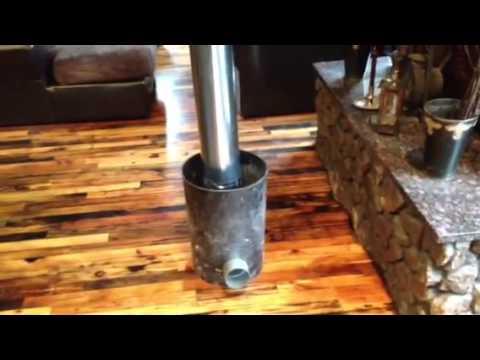 My rocket stove part one design funnydog tv for Decorative rocket stove