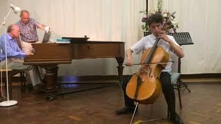 David Popper Tarantella for cello and piano James Dew