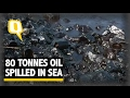 The Quint: Tankers Collide Near Chennai 80 Tonnes of Oil Spilled in Sea