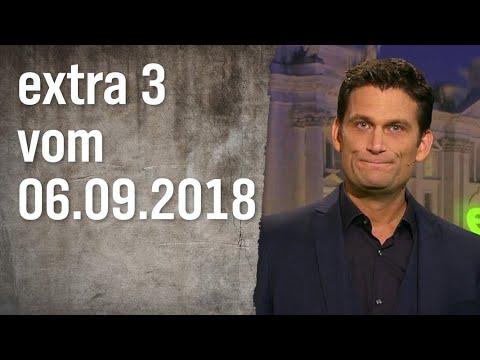 Extra 3 vom 06.09.2018 | extra 3 | NDR