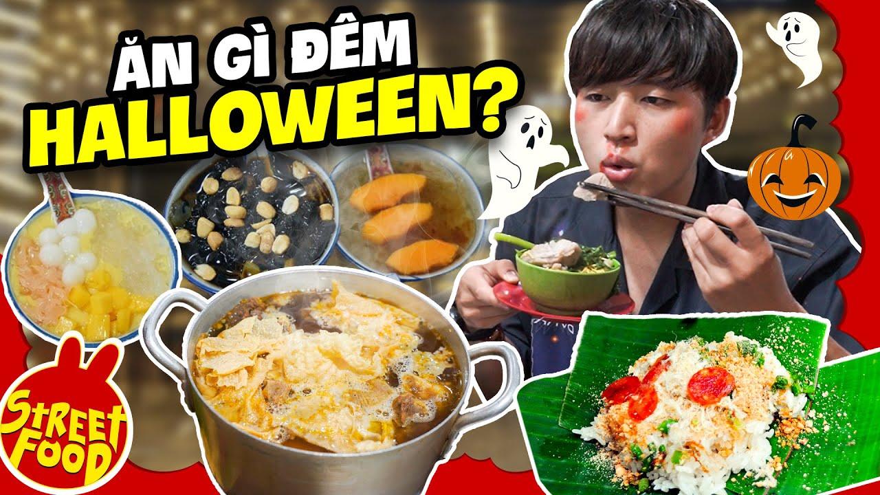 Ngon Rùng Mình Hương Vị Gói Xôi Nhà Xác   Những Món Ăn Không Thể Bỏ Lỡ Ngày Halloween   FOOD TOUR