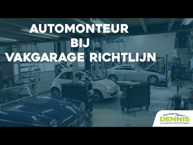 Automonteur vacature bij Vakgarage Richtlijn in Nederhorst den Berg | #1790