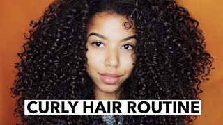 "Updated Curly Hair Routine ""Defined Curls"" by @LaurenLewiss"