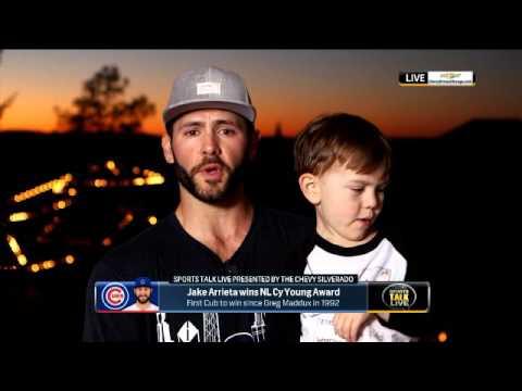 SportsTalk Live: Jake Arrieta On winning The 2015 NL Cy Young