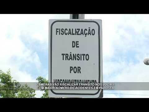 Paulista multa por câmeras