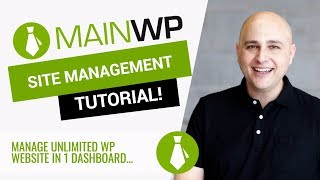 How To Manage All Your Websites In 1 Dashboard  FREE - MainWP Tutorial