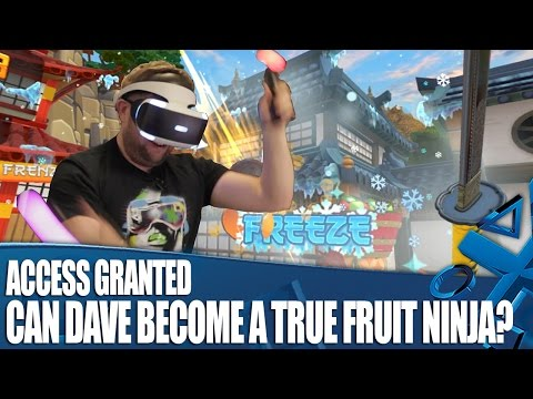 Access Granted - Can Dave Become A True Fruit Ninja?