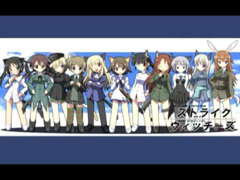 Strike Witches movie ed  (Yakusoku no Sora e ~watashi no ita basho) Full -Ishida Yoko