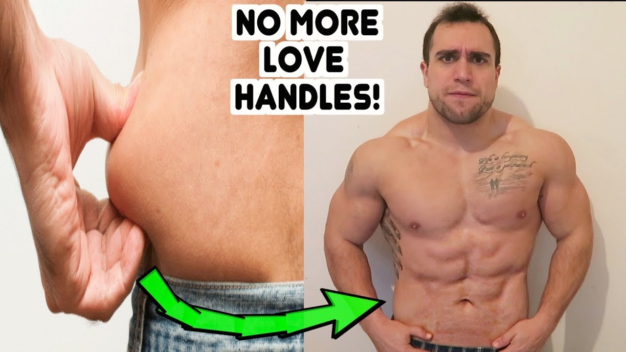 How to Lose Love Handles  Muffin Top Fix!