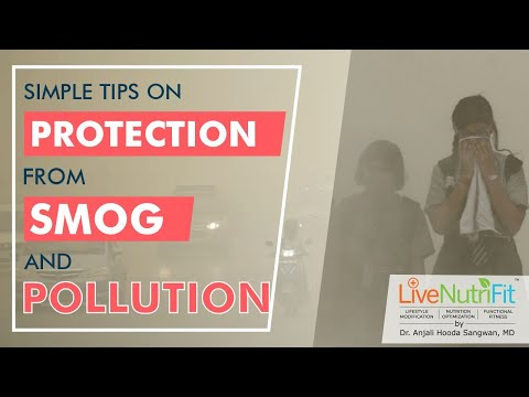 Tips on Protection from SMOG and Pollution