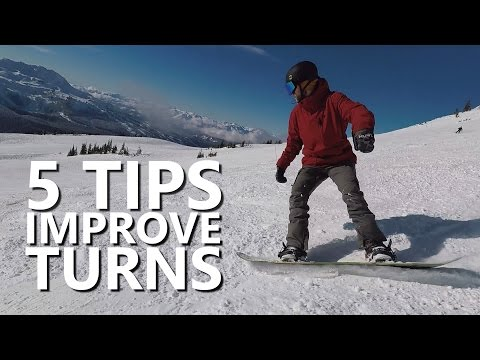 Generate 5 Tips to Improve Snowboard Turns Pics