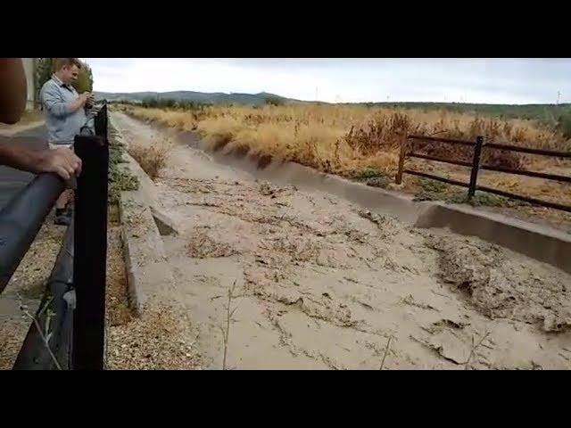 VÍDEO: Algunas imágenes de los daños ocasionados por las tormentas de hoy