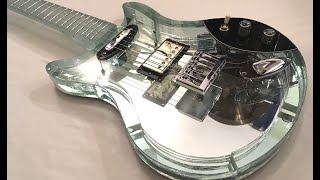 Building an ENTIRE guitar out of GLASS!