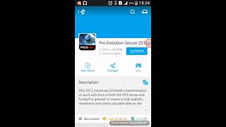 Comment telecharger pes 2012 facilement pour Android 100%