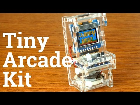 Tiny Arcade Kit: Time Lapse Build w/commentary